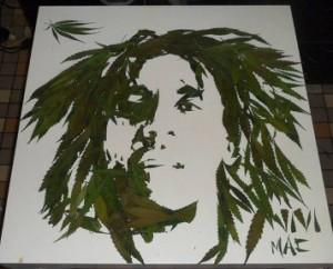Bob Marley, por Vivi Mac